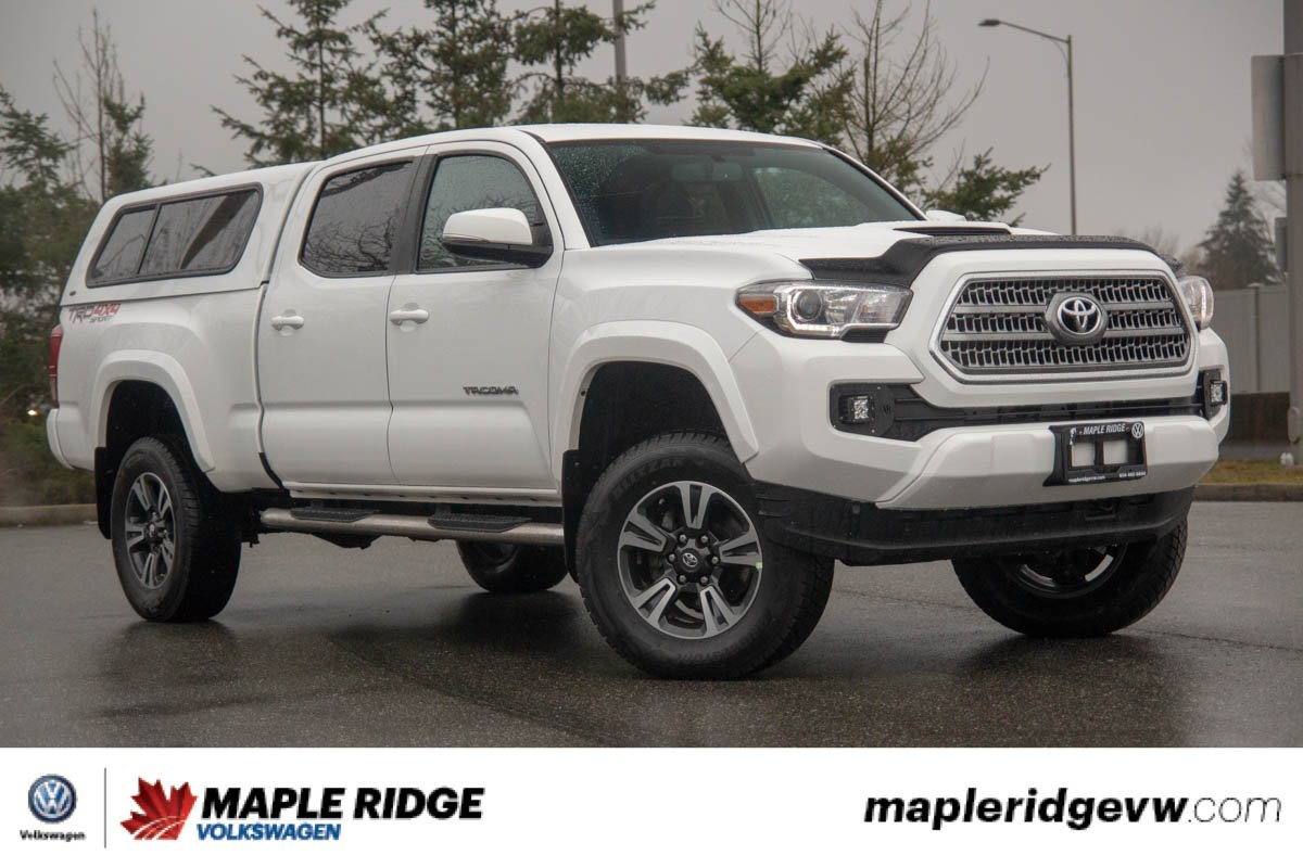 Pre Owned 2017 Toyota Tacoma Trd 4x4 Awesome Deal Bed Cap Included
